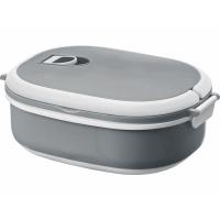 Ланч-бокс Spiga 750 мл для микроволновой печи, серый/белый