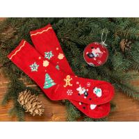 Носки в шаре Рождество мужские, красный