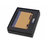 Подарочный набор Essentials с флешкой и блокнотом А5 с ручкой