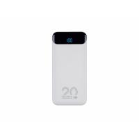 Внешний аккумулятор с дисплеем, 20000 mAh