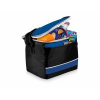 Спортивная сумка-холодильник Levi, черный/ярко-синий