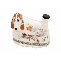 Штоф- собака «Зимние забавы»