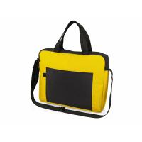 Конференц сумка для документов Congress, желтый/черный