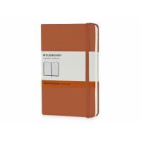 Записная книжка Moleskine Classic (в линейку) в твердой обложке, Pocket (9x14см), оранжевый коралл