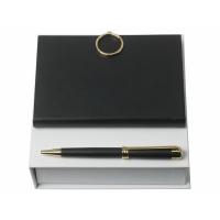Подарочный набор Boucle Noir: ручка шариковая, блокнот А6