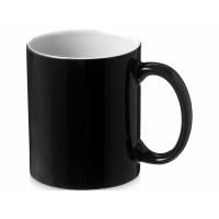 Керамическая кружка Java, черный/белый