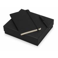 Подарочный набор Moleskine Indiana с блокнотом А5 Soft и ручкой, черный