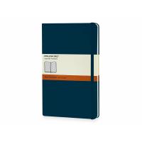 Записная книжка Moleskine Classic (в линейку) в твердой обложке, Large (13х21см), сапфир
