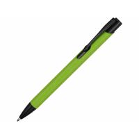 Ручка металлическая шариковая Crepa, зеленое яблоко/черный