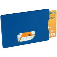 Защитный RFID чехол для кредитной карты, ярко-синий