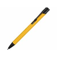 Ручка металлическая шариковая Crepa, желтый/черный
