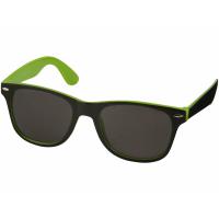Очки солнцезащитные «Sun Ray» с цветной вставкой