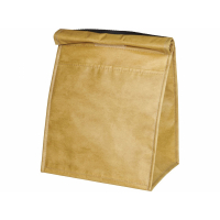 Бумажная сумка-холодильник для ланчей, коричневый