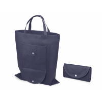 Складная сумка Maple из нетканого материала, темно-синий