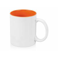 Кружка Gain 320мл, белый/оранжевый