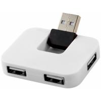 USB Hub Gaia на 4 порта, белый