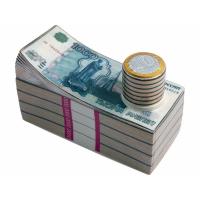 Штоф для водки Российские рубли