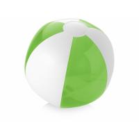 Пляжный мяч Bondi, лайм/белый