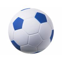 Антистресс Football, белый/ярко-синий