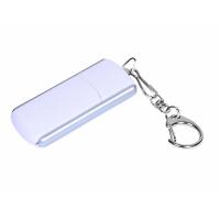 USB 3.0- флешка промо на 64 Гб с прямоугольной формы с выдвижным механизмом