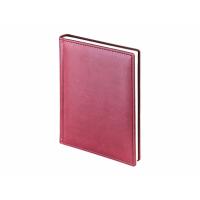 Ежедневник А5 датированный Velvet 2020, бордовый