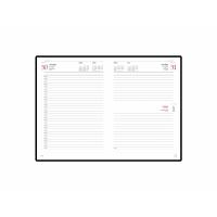 Ежедневник А5 датированный «Velvet» на 2021 год