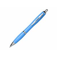 Шариковая ручка Nash из пшеничной соломы с хромированным наконечником, cиний