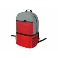 Рюкзак-холодильник Sea Isle, красный/серый