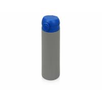 Вакуумная термокружка Хот 470мл, серый/синий
