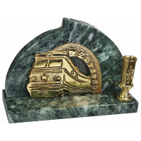 Настольный прибор «Поезд»