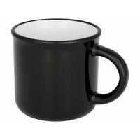 Керамическая походная кружка, черный